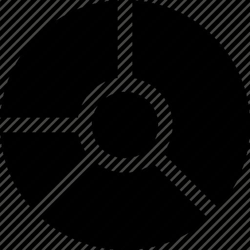 analytics, business, chart, data, pie, visualisation icon