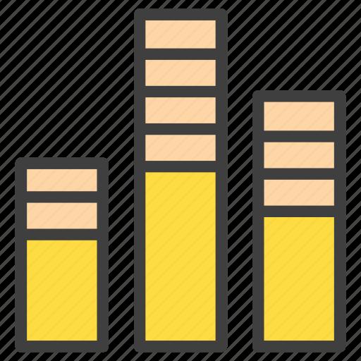 analysis, analytics, bar chart, bars, histogram icon
