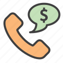 business call, business opportunity, call, calling icon