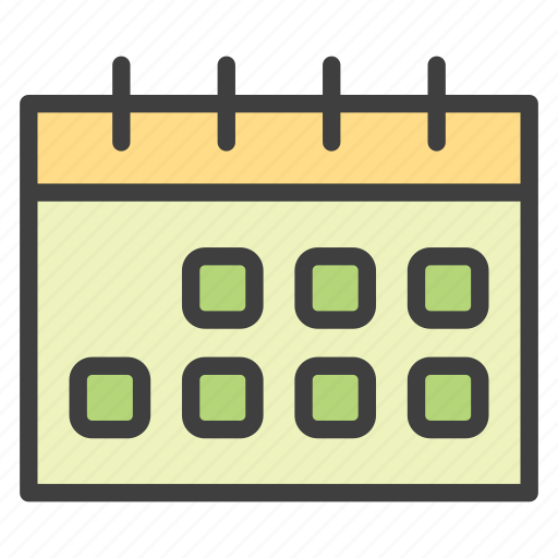 calendar, events, schedule, time planning icon