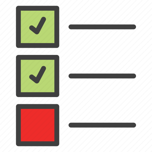 checklist, planning, todo, todo list icon