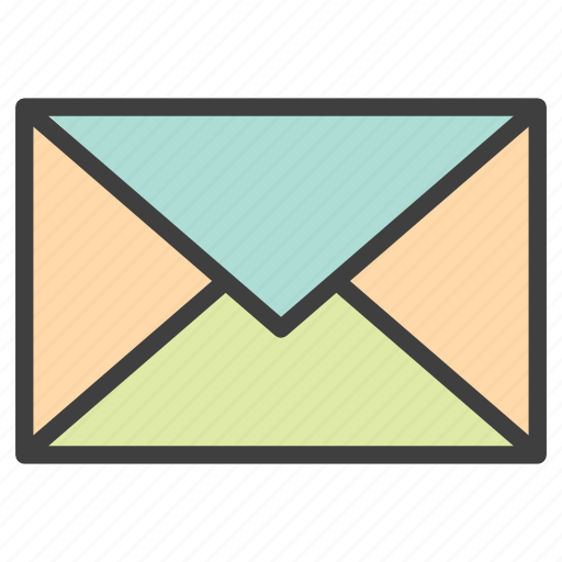 email, envelope, inbox, mail, message icon