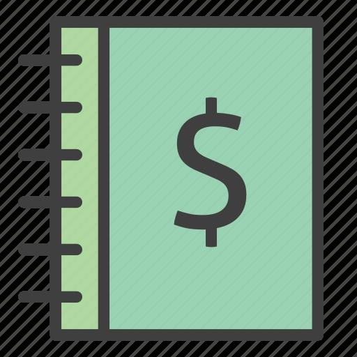 earnings report, finance, finance book, financial report, revenue report icon