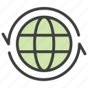 exchange, global, international, translation icon