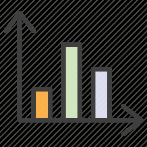 bar chart, bars, chart, histogram, statistics icon