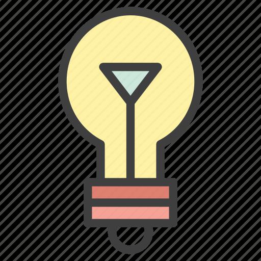 bulb, idea, lamp, light, smart icon