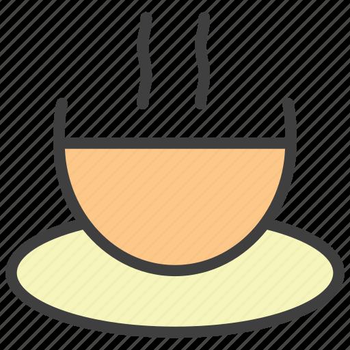 coffee, cup, hot coffee, mug, pause icon