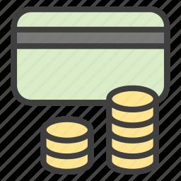 cash, credit card, debit card, mastercard, money icon