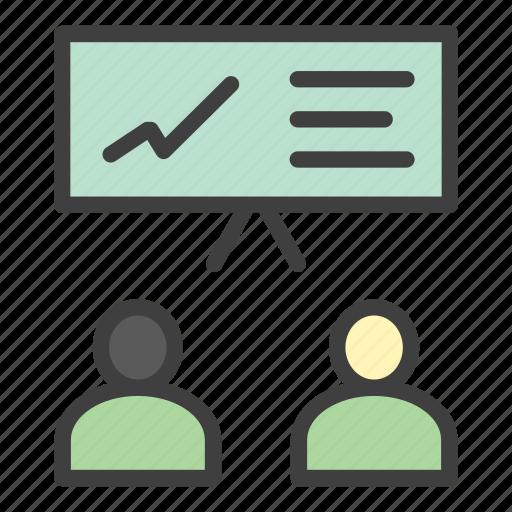 coaching, course, presentation, teaching icon