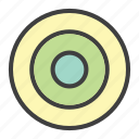 archery, business, goal, target icon