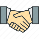 cooperation, handshake, partner, transaction icon