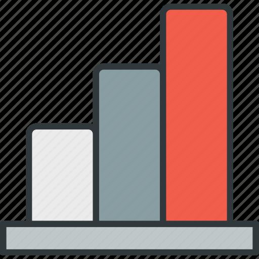 analysis, chart, histogram, report, sales, turnover, volume icon