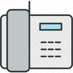 cell, connection, landline, phone, telephone icon