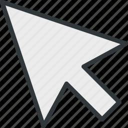 arrow, arrows, computer, mouse icon