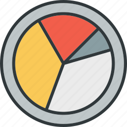 analytics, chart, data, form, pie, report icon