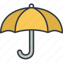 protection, rain, safe, umbrella icon