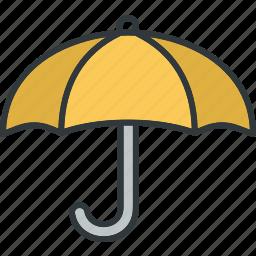 protection, rain, safe, umbrella icon
