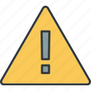 alert, caution, errors, hints, warnings icon