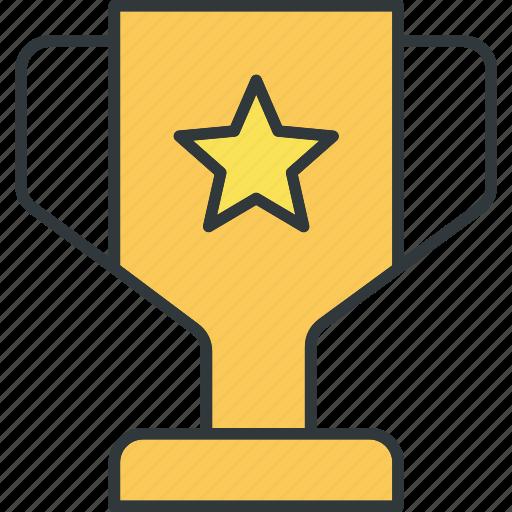 champion, prize, reward, success, trophy, win icon