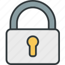 lock, locked, safe, security icon