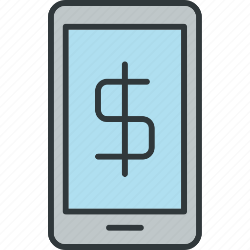 device, finance, mobile, payment icon