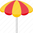journey, rest, sun umbrella, tour, tourism, travel, trip icon