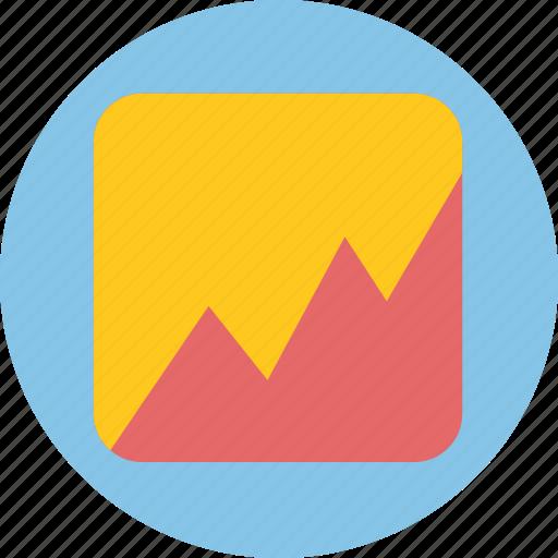 analytics, business, investigate, stock, survey icon