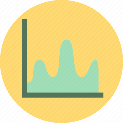 business, graph, report, trend icon