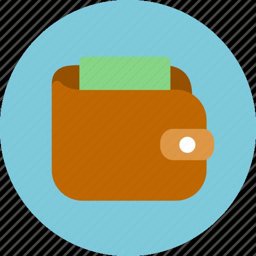 balance, business, cash, finance, money, purse, wallet icon