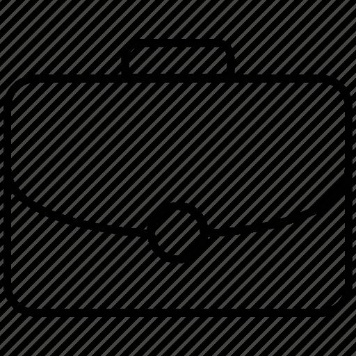 Bag, portfolio bag, portfolio, business, suitcase icon icon