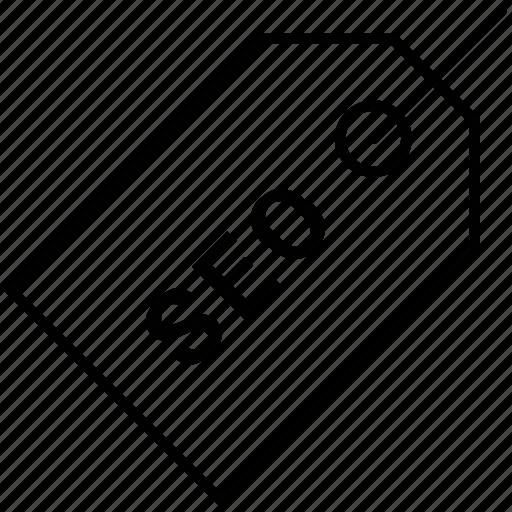 Badge, optimization, price icon, seo, tag icon - Download on Iconfinder