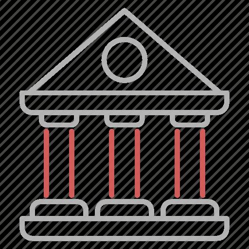 bank, business, finance, savings icon