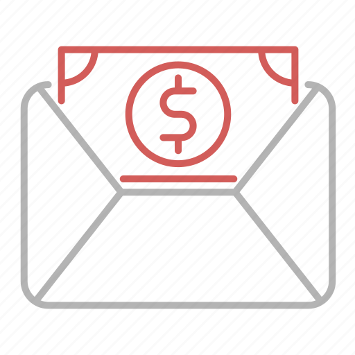 business, invoice, mail, taxes icon