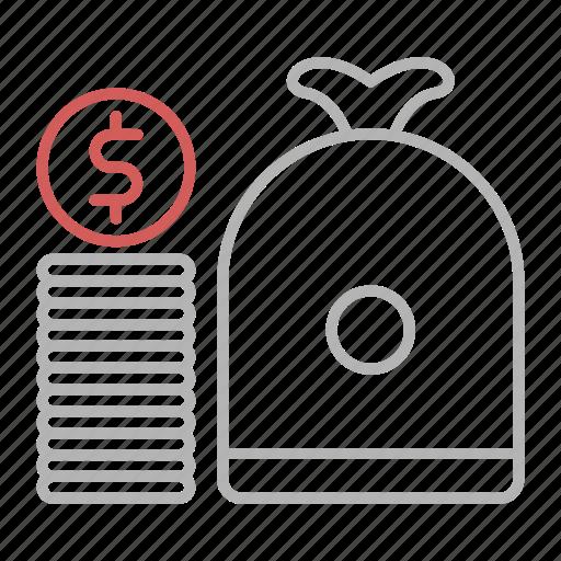 business, capital, cash, dollar icon