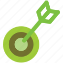 archery, business, goal, startup, target icon