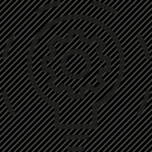 creative, creative process, idea, process icon icon