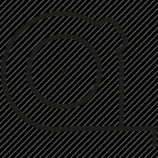 centimeter, inch-tape, measuring tape icon icon