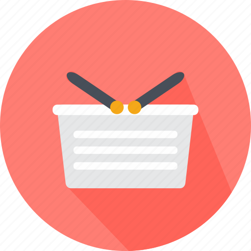 basket, cart, e, ecommerce, sale, shipping, shopping cart icon