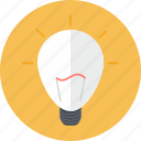 bulb, business, creativity, idea, inspiration, lighting, seo icon