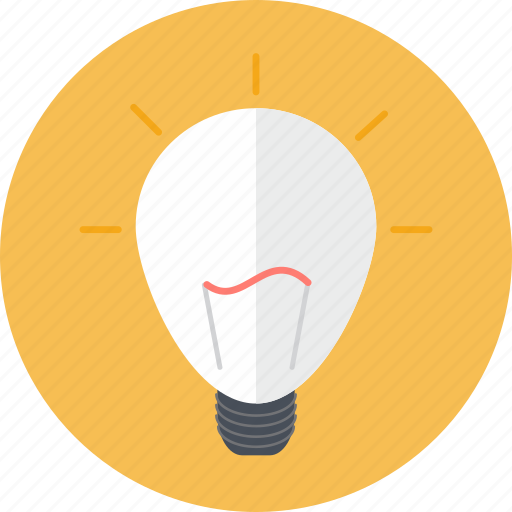 bulb, business, creativity, idea, inspiration, lighting, seo icon