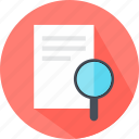 glass, magnifying, report, search, secret