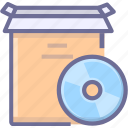 application, cd, install, product icon