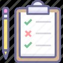 checklist, do, list icon