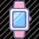 intelligent, time, watch icon