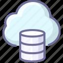 backup, cloud, datas, storage icon