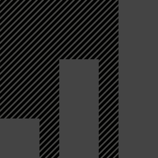 analytics, bar, chart, growth, report icon