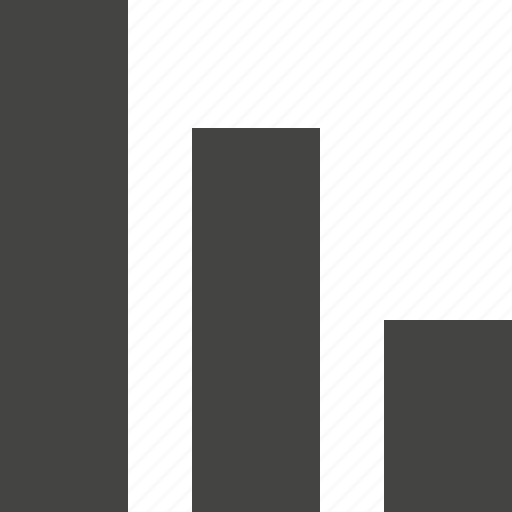 analytics, chart, decrease, growth, report icon
