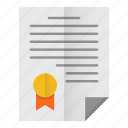 agreement, business, contract, deal, paper icon