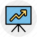 analytics, board, business, chart, graph, presentation icon