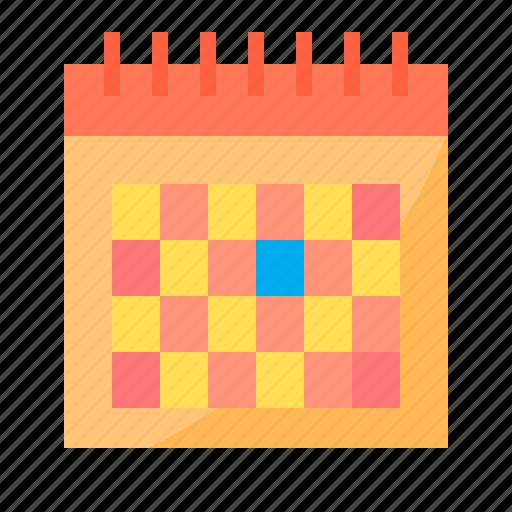 business, calendar, customer, management, seo icon